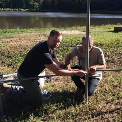 Volunteer Tony and Paul